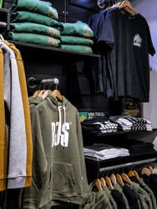 Boardjunkies-Collection und Wolters Merchandise