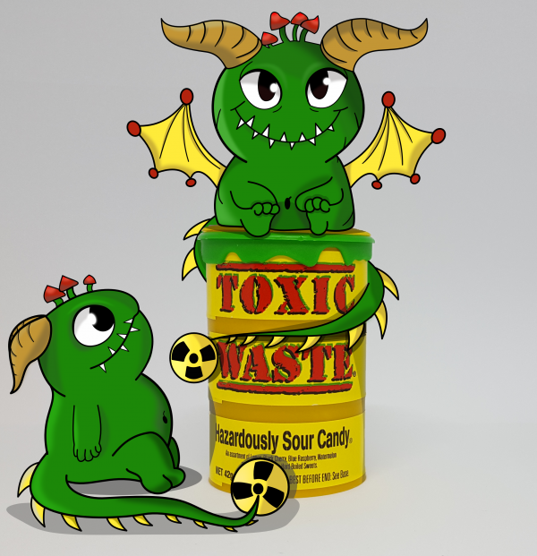 Monsterdrachen Toxic Waste