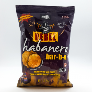 Aubrey D. Rebel Habanero Bar-B-Q